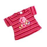 Camiseta rosada Fotografía de archivo