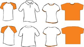 Camisetas Imágenes de archivo libres de regalías