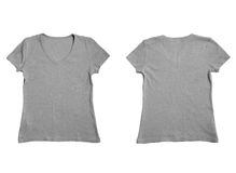 Camisetas Fotografía de archivo