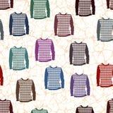 Camisetas coloridas Fotografia de Stock
