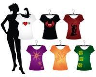 Camisetas de la mujer