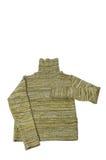 Camisola verde. Foto de Stock Royalty Free