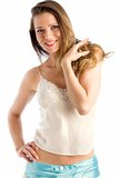 Camisole top Royalty Free Stock Photos