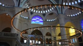The Camlica Mosque Ä°stanbul Turkey stock video footage