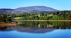 Camlough Lake. County Armagh Irish landscape royalty free stock photography