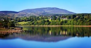 Camlough sjö Royaltyfri Fotografi