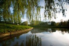 Camma del fiume a Cambridge fotografie stock