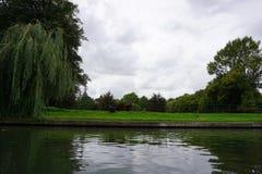 Camma Inghilterra del fiume Immagini Stock Libere da Diritti