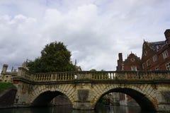 Camma Inghilterra del fiume Fotografie Stock