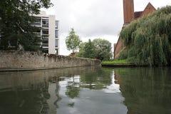 Camma Inghilterra del fiume Fotografia Stock