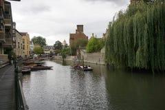 Camma Inghilterra del fiume Fotografia Stock Libera da Diritti