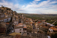 Cammarata, Sicília, Itália imagem de stock royalty free