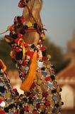 Cammello decorato Fotografia Stock Libera da Diritti
