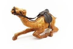 Cammello di legno Fotografie Stock