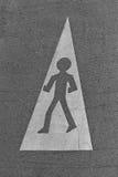 Cammina questo modo Immagini Stock Libere da Diritti