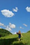 Camminando con la natura Fotografia Stock