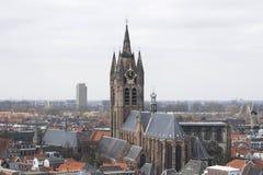 Camminando a Delft Fotografia Stock
