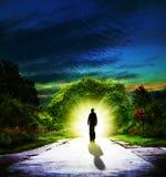 Camminando a Eden Fotografia Stock Libera da Diritti