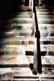 Camminando giù le scale Immagine Stock Libera da Diritti