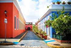 Camminando intorno a Portorico Fotografie Stock