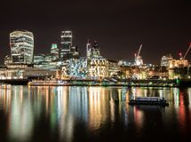 Camminando a Londra Fotografia Stock