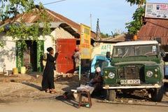 Camminando a Mombasa Fotografie Stock Libere da Diritti