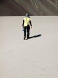 Camminando nel deserto Immagini Stock Libere da Diritti