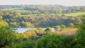 Camminando nel Weald - a sud dell'Inghilterra immagini stock libere da diritti