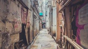 Camminando tramite portone nascosto Fotografia Stock Libera da Diritti