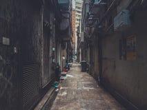 Camminando tramite portone nascosto Fotografia Stock