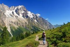 Camminando in valle del furetto Fotografie Stock Libere da Diritti