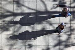 Camminare Fotografia Stock Libera da Diritti