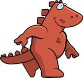 Camminare del dinosauro illustrazione vettoriale