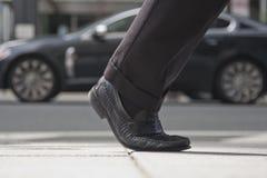 Camminare del piede Fotografia Stock