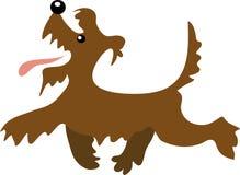 Camminare del terrier del fumetto Immagine Stock Libera da Diritti