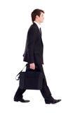 Camminare dell'uomo d'affari Fotografie Stock Libere da Diritti