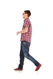Camminare dell'uomo di modo Immagini Stock
