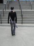 Camminare della donna Immagine Stock