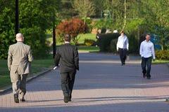 Camminare della gente Immagini Stock Libere da Diritti