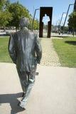 Camminare della statua Fotografia Stock Libera da Diritti