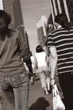 Camminare dietro Fotografia Stock Libera da Diritti