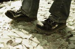 Camminare estremo Immagini Stock
