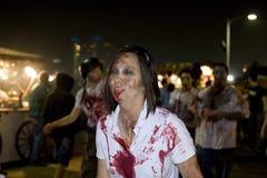 Camminata 1 delle zombie della LA Immagini Stock Libere da Diritti