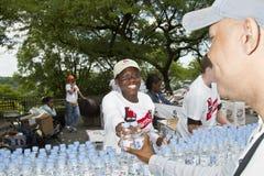 CAMMINATA 2010 DEL AIDS Immagini Stock Libere da Diritti