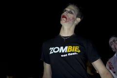 Camminata 4 delle zombie della LA Fotografie Stock Libere da Diritti
