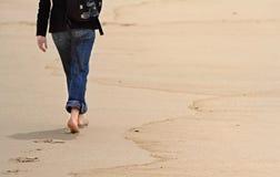 Camminata Fotografie Stock