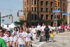 Camminata Cleveland del cuore Fotografia Stock Libera da Diritti