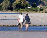 Camminata con me Fotografie Stock