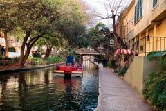 Camminata del fiume - San Antonio Fotografia Stock