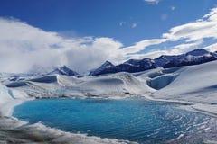Camminata 2 del ghiacciaio Fotografie Stock Libere da Diritti